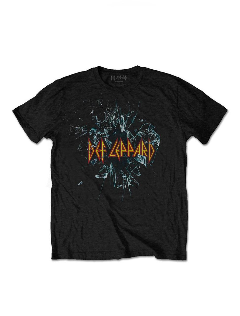 6911d6afe271 Def Leppard Shatter T-Shirt - Suicide Glam Australia