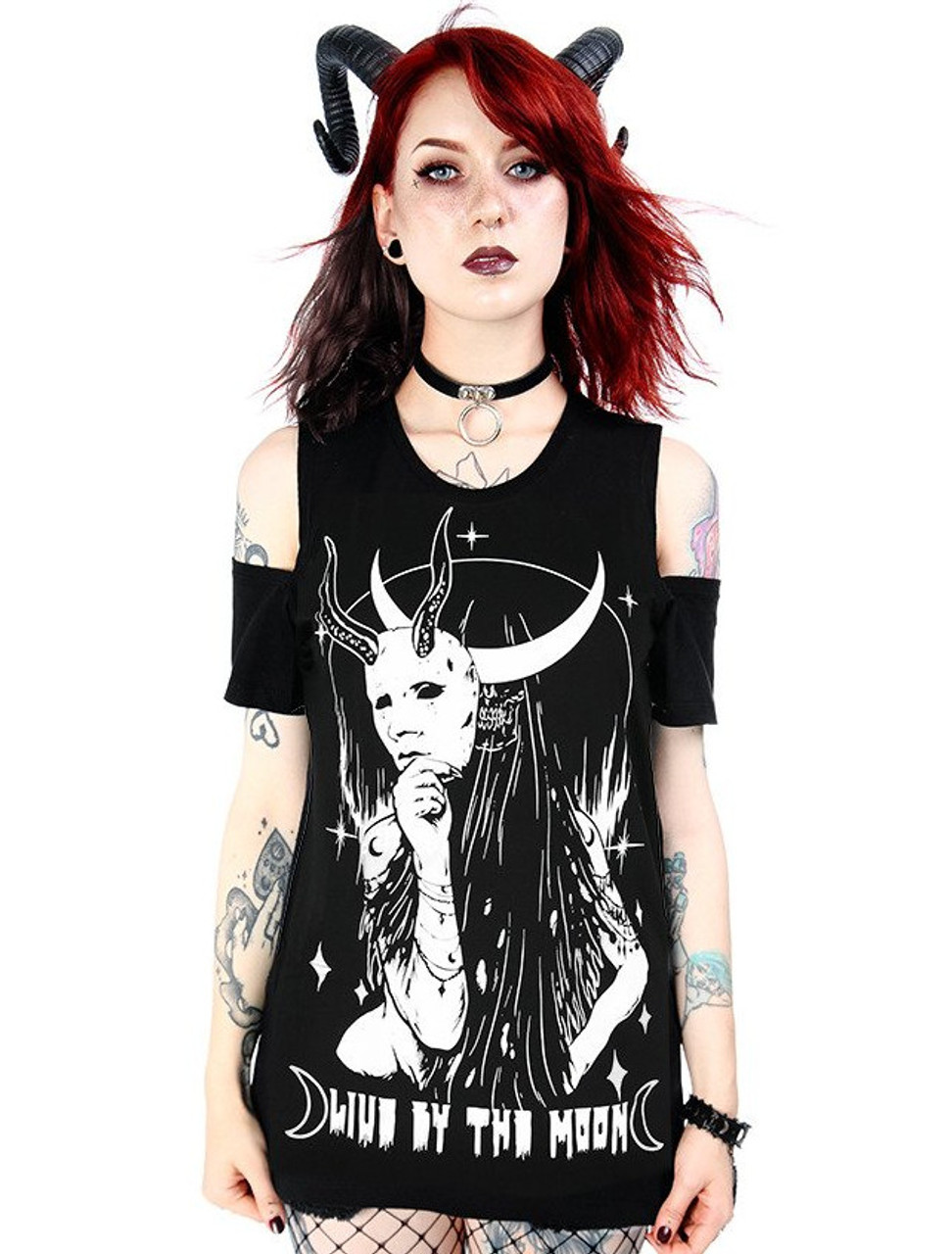 WITCHCRAFT SHIRT Witchy shirt Restyle Black
