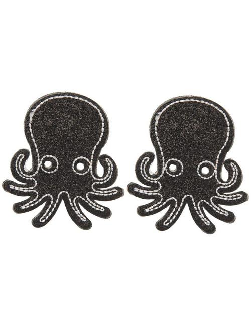 2a13f7a5d Sourpuss Black Glitter Octopus Hair Clip - Suicide Glam Australia