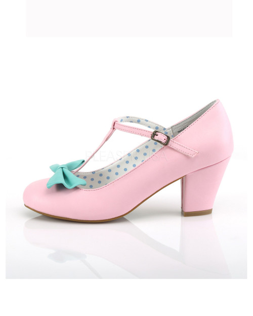 Teal Pink 50 And Up Couture Wiggle Pin Heels m8n0vNw
