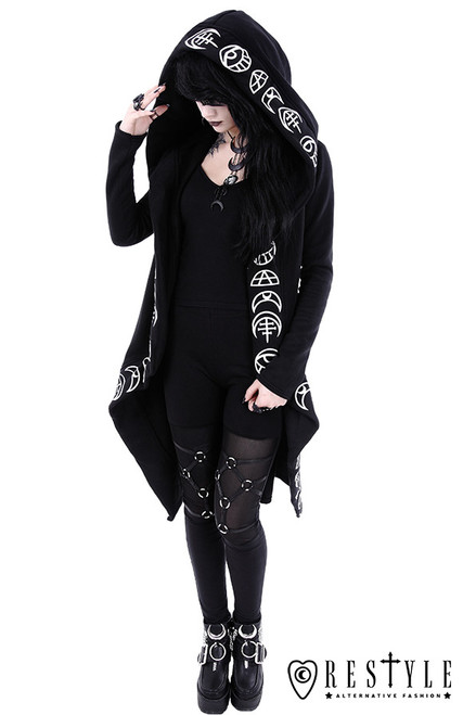 e4febe53 Restyle All Seeing Moon Hoodie - Suicide Glam Australia