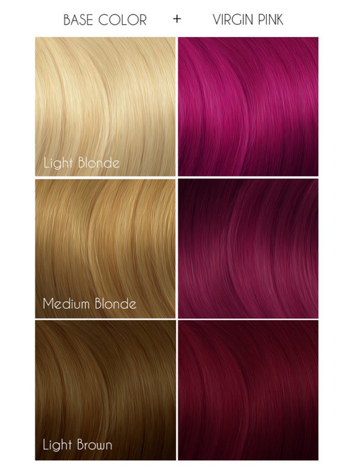 Arctic Fox Virgin Pink Hair Colour 236 Ml