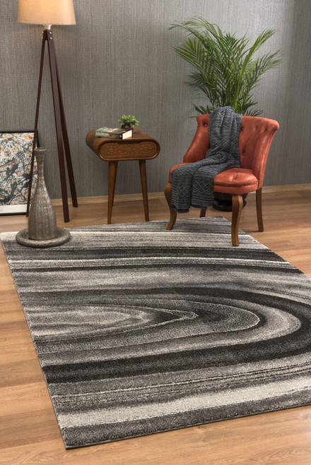 Illusion Area Rug - IL1430DKGY46