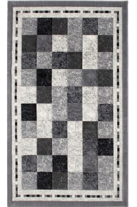 Izmir Carving Area Rug - IZC0402GY24