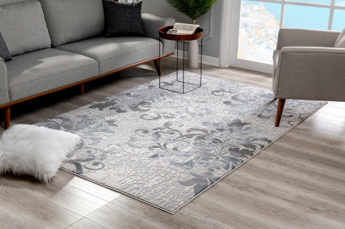 Sydney Area Rugs - SY6906LTBL