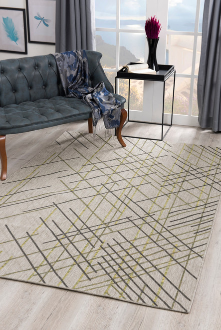 Velit Indoor/Outdoor Rugs - VEL2088GR