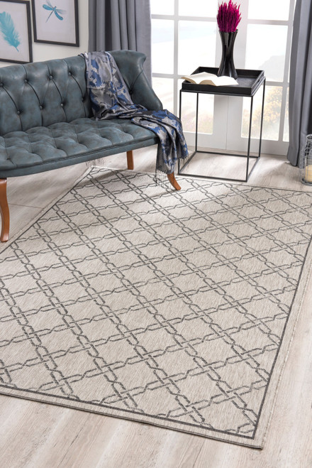 Velit Indoor/Outdoor Rugs - VEL4125GY