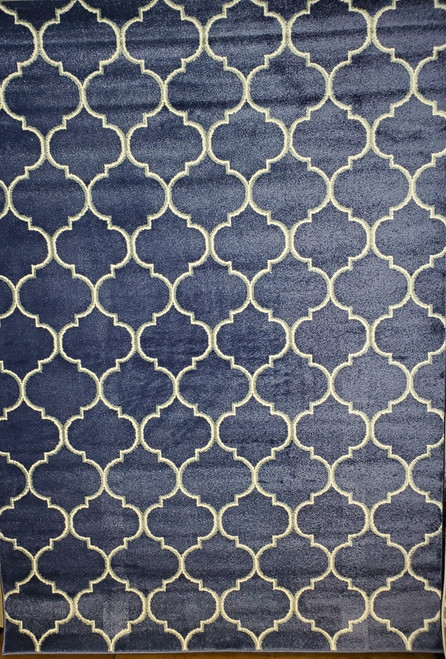 omega Area Rugs fas 007 navy