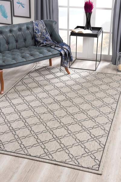 Velit Indoor/Outdoor Rugs - VEL4125GY