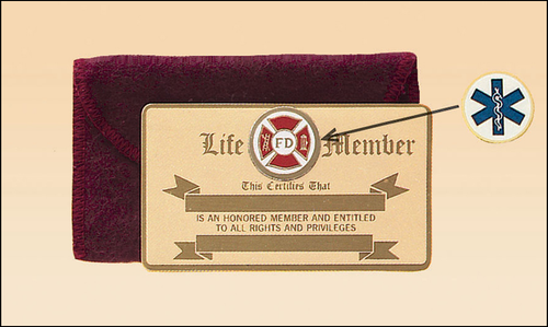 Bronze Wallet Card