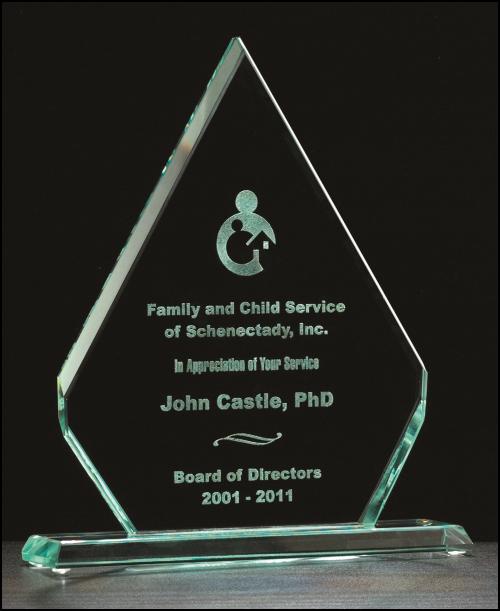 Diamond Series Glass Award