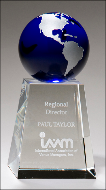 Blue Crystal Globe Award
