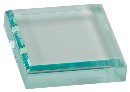 Jade Square Acrylic Paperweight