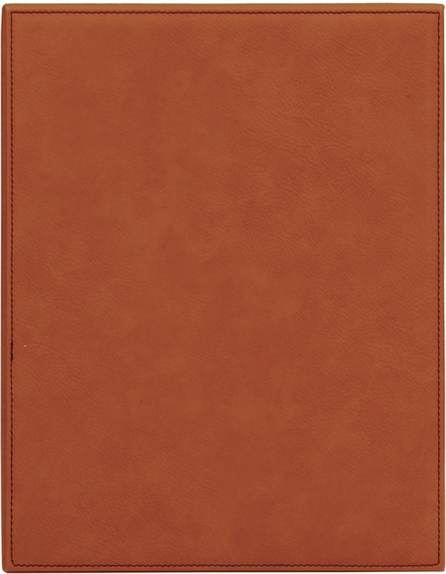 Rawhide Leatherette Plaque
