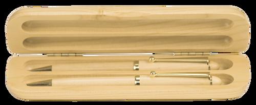 Maple Double Pen & Pencil Case