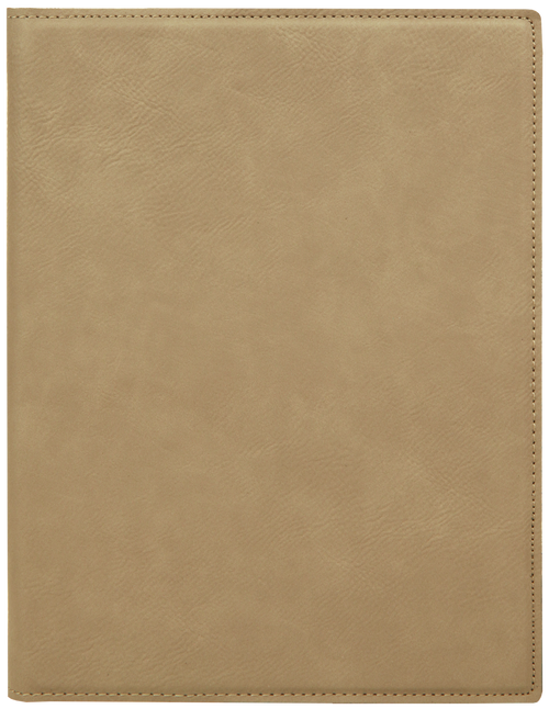 Small Leatherette Portfolio with Notepad