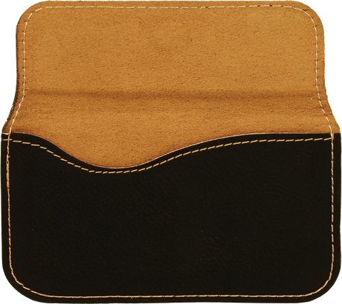 Leatherette Flexible Business Card Case - JGFT244