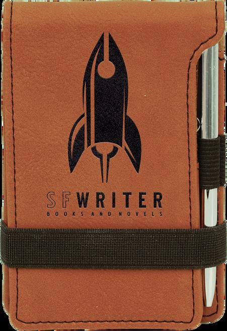 Leatherette Notepad & Pen Set - JGFT276