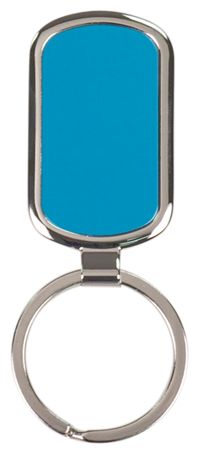 Rectangle Metal Keychain - JGFT092
