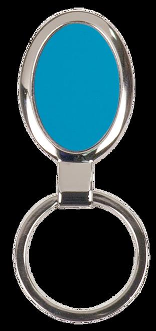 Oval Metal Keychain - JGFT095