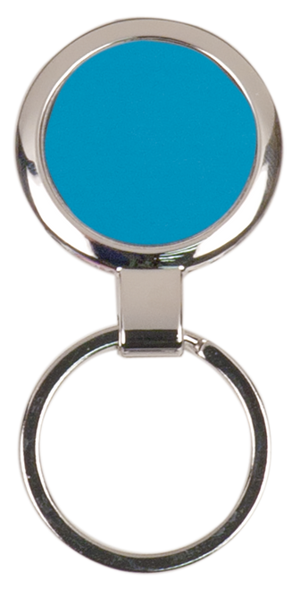 Round Metal Keychain - JGFT098