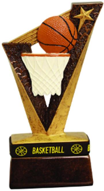 "Basketball Trophybands Resin 6 1/2"""
