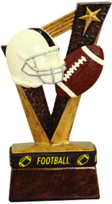 "Football Trophybands Resin 6 1/2"""