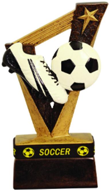 """Soccer Trophybands Resin 6 1/2"""""""