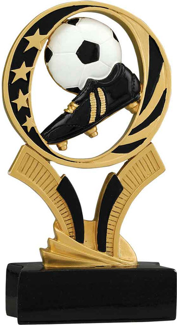 Soccer MidNite Star Resin