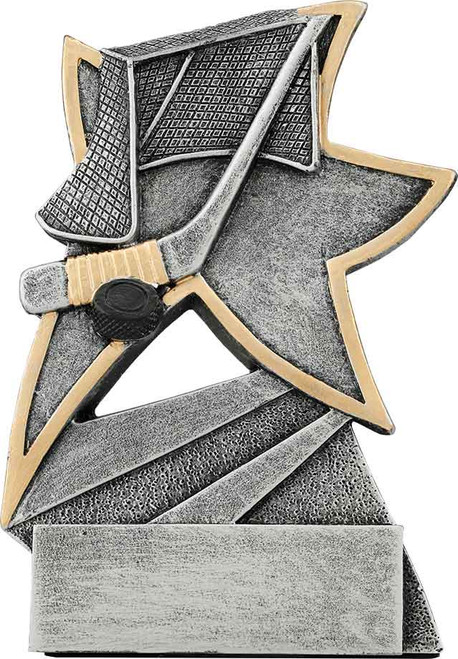 "Hockey Jazz Star Resin 5 1/2"""