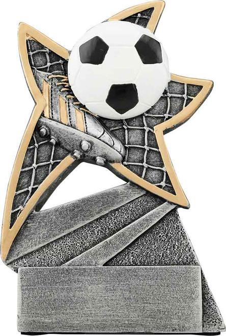 "Soccer Jazz Star Resin 5 1/2"""