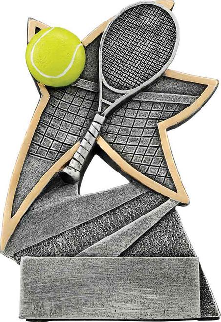 "Tennis Jazz Star Resin 5 1/2"""
