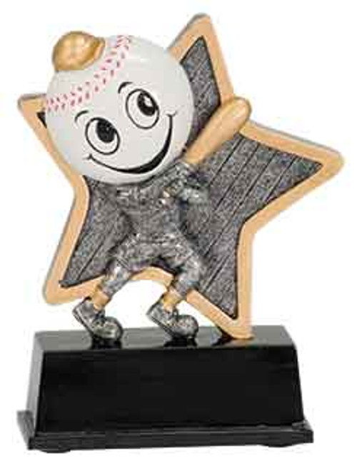 Baseball Little Pal Resin 5""