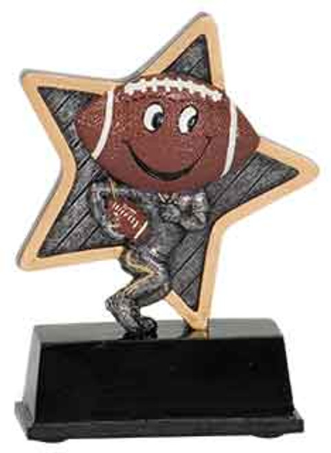 Football Little Pal Resin 5""