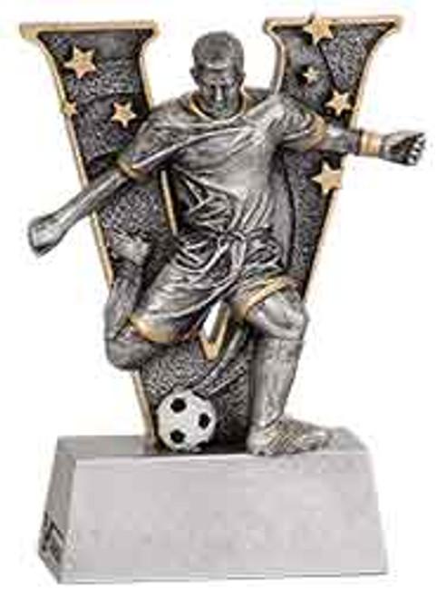 Male Soccer V Series Resin