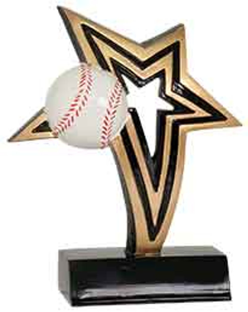 Baseball Infinity Star Resin