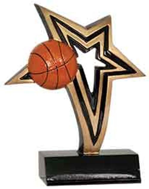 Basketball Infinity Star Resin