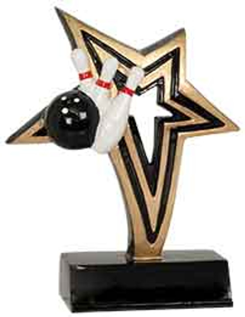 Bowling Infinity Star Resin
