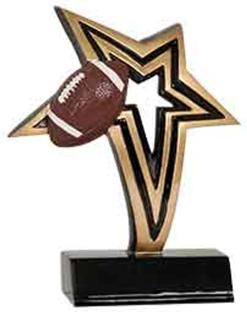 Football Infinity Star Resin