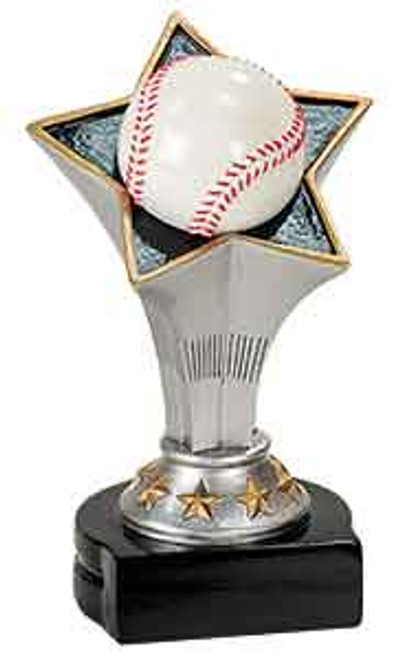 Baseball Rising Star Resin