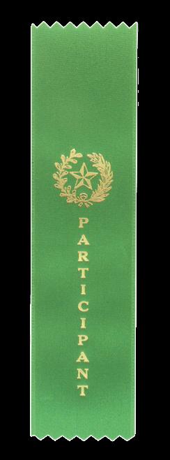 """Participant Green """"PINKED Top"""" Ribbon"""
