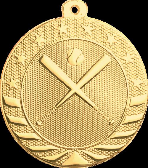 Baseball/Softball Starbrite Medal