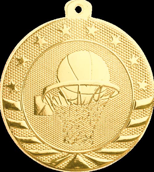 Basketball Starbrite Medal