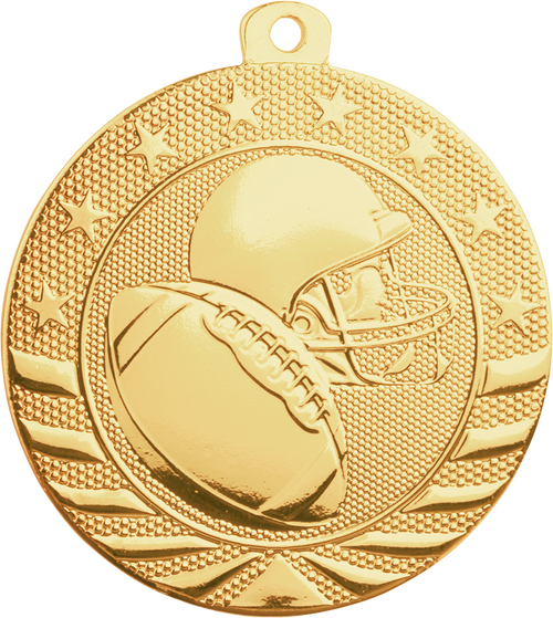 Football Starbrite Medal