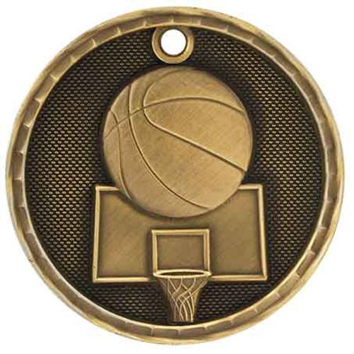 Basketball 3D Medal