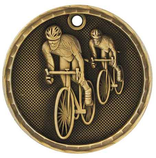 Bicycling 3D Medal
