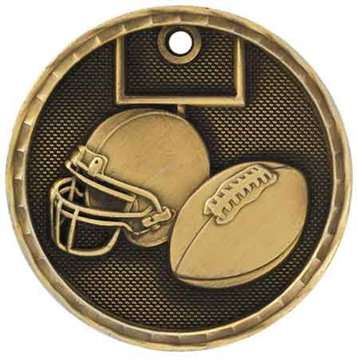 Football 3D Medal