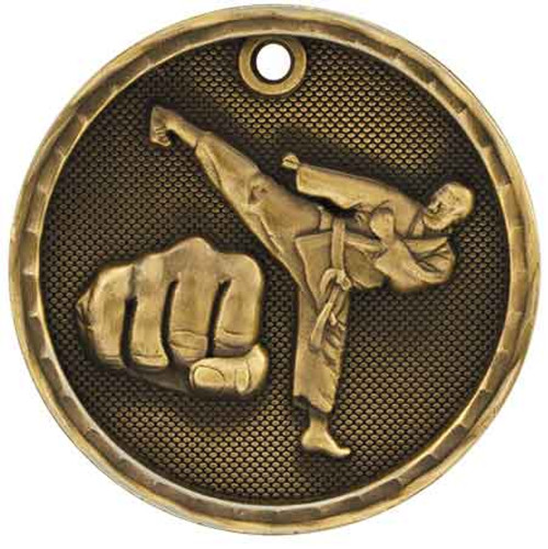 Martial Arts 3D Medal