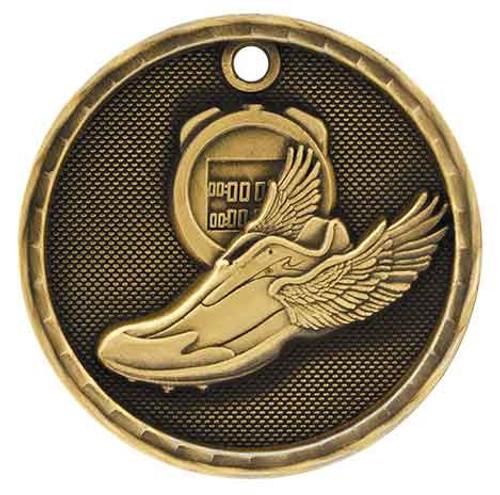 Track 3D Medal