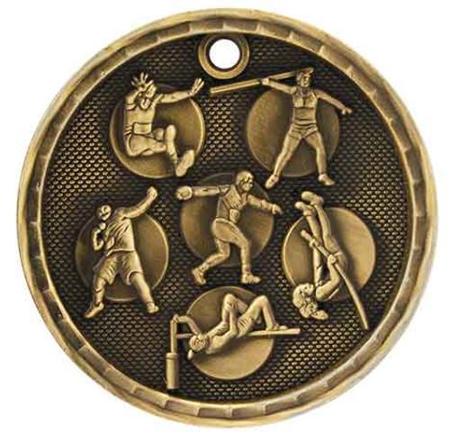 Track & Field 3D Medal